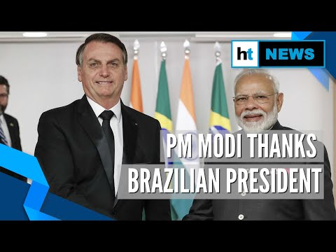 PM Modi thanks Jair Bolsonaro for giving Indians visa-free entry into Brazil