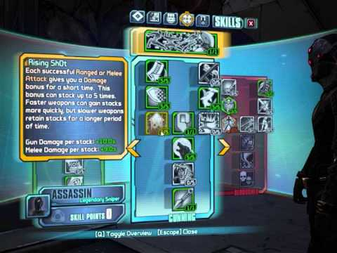 "borderlands 2 level 72 sniper zero ""one shot one kill"" build"