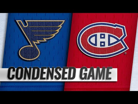 10/17/18 Condensed Game: Blues @ Canadiens