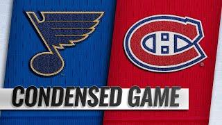10/17/18 Condensed Game: Blues @ Canadiens