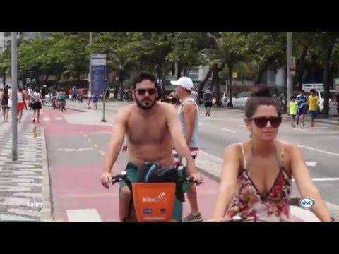 Las espectaculares playas de Leblon, Ipanema y Copacabana de Río de Janeiro Brasil