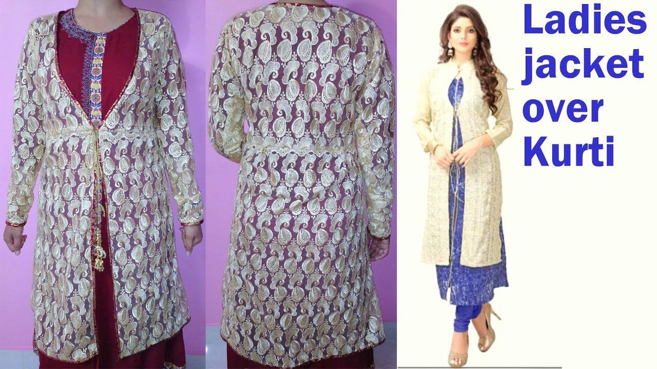 9e17bb596d15c kurti jacket cutting and stitching