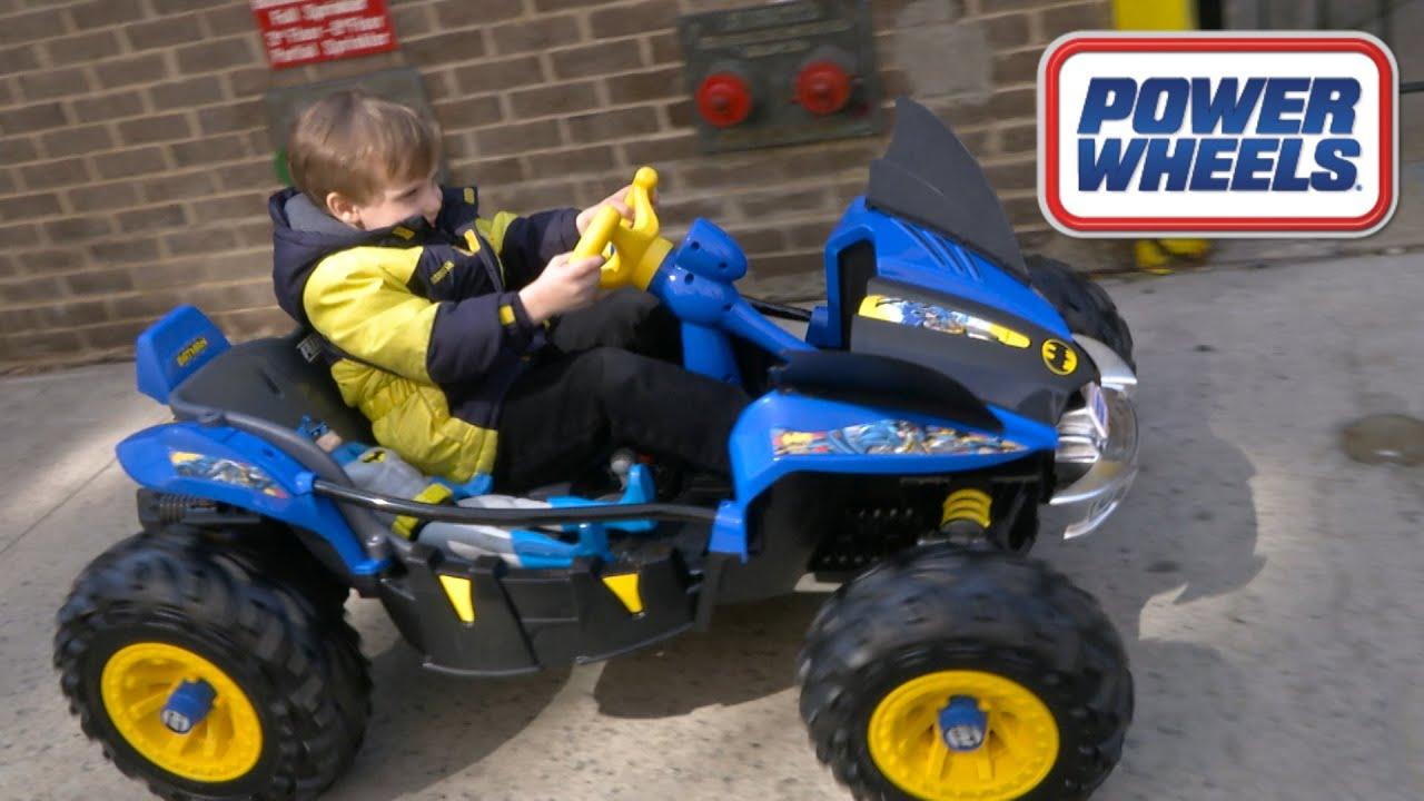 Power Wheels Batman Dune Racer from Mattel - YouTube