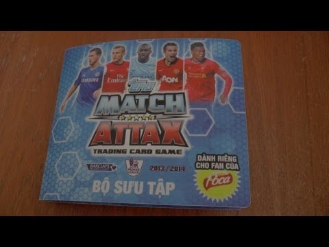 UK Premiere.. COMPLETE topps MATCH ATTAX Premier League 2014 Trading Cards VIETNAM EDITION - HD