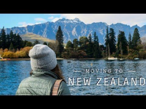 Moving To New Zealand   Travel VLOG   Working Holiday Visa