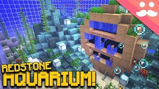 Making the BEST REDSTONE AQUARIUM in Minecraft! [SNAPSHOT!]