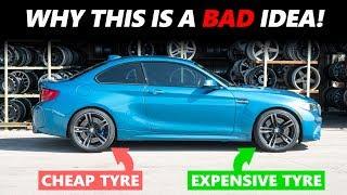 لهذا السبب.. الجمع بين إطارات غالية وأخرى رخيصة الثمن بالسيارة يدمرها (فيديو)