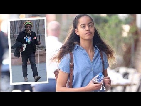 Malia Obama: detienen a un acosador que le pidió matrimonio