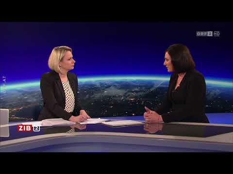ZIB2, Bericht und Interview, neue Nationalratspräsidentin Elisabeth Köstinger (ÖVP), ORF 9.11.2017