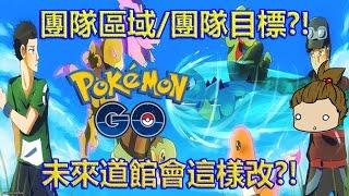 【Pokémon GO】開放團隊區域/團隊目標?!(未來道館會這樣改)