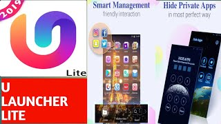 U launcher lite hide apps features, how to use u launcher lite screenshot 2