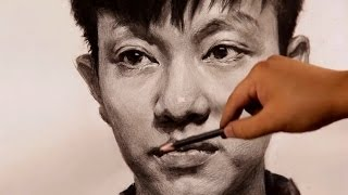 Portrait Drawing in Pencil | Time-lapse