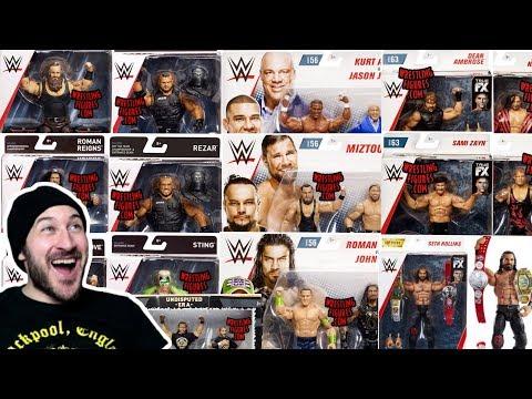 New WWE Mattel Action Figure News - New Figure Images & Info - Sept 2018