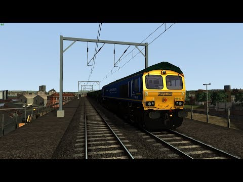 (TS) Driving 66623 along the North London Line