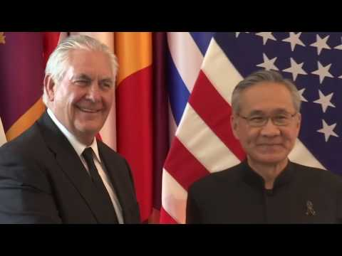 Secretary Tillerson Meets With Thailand Foreign Minister Pramudwinai