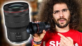 CANON RF 15-35mm f2.8L IS REVIEW | The BEST Mirrorless LENS Yet?!
