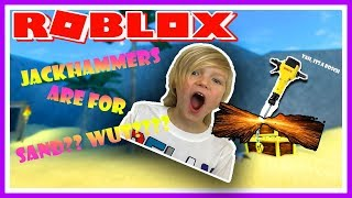 JACKHAMMERS DIG GRRRRREAT! | ROBLOX | Family Friendly | Kid Gaming | E-Rated |