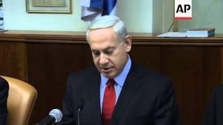 Netanyahu welcomes Canada