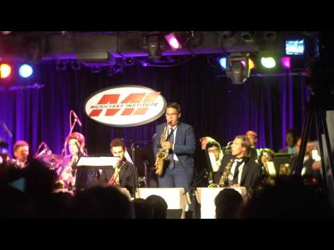 "All-City Big Band With Jane Monheit Performs ""Taking A Chance On Love"" At Musician's Institute"