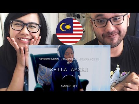 Indonesians React To Shila Amzah - Speechless  Raungan Suara  沉默  Disney&39;s Aladdin OST