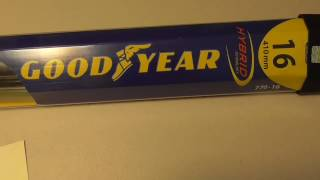 Costco Goodyear Hybrid Windshield Wipers Pin Mount Review Installation Guide