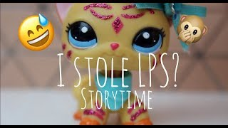 I STOLE LPS? storytime