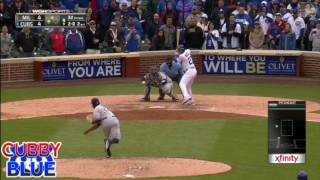 Cubs Highlights 4/19/17 Walk Off 3 Run HR by Addison Russell