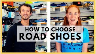 Choose the right ROAD SHOES wi…