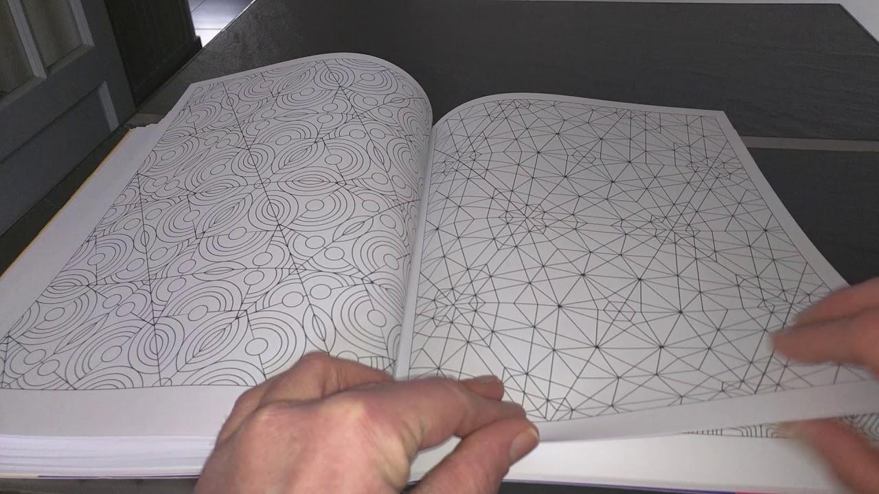 Coloriage Anti Stress Illusion Doptique.Livre De Coloriage Anti Stress Adulte Illusions D Optique Et