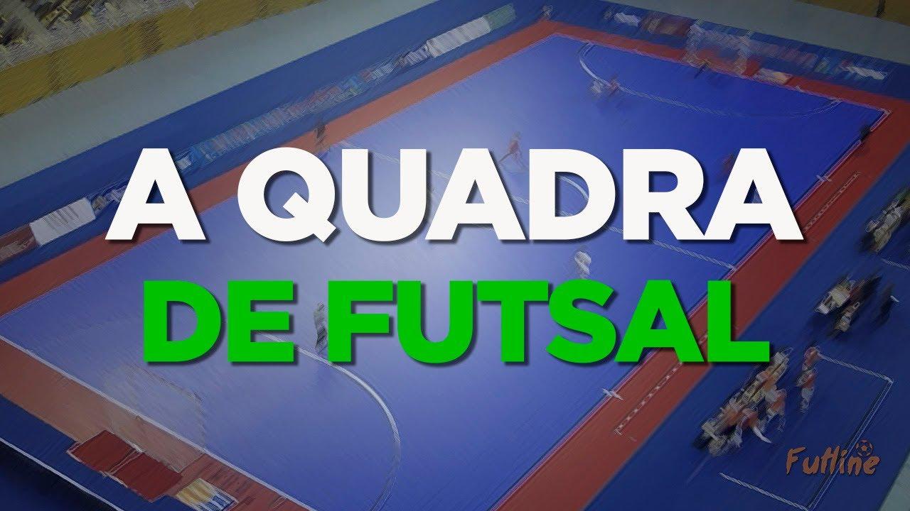 02a04bcdb3 Quadra de Jogo de Futsal - YouTube