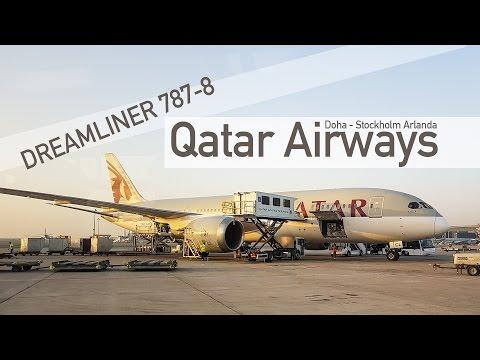 TRIP REPORT | Qatar Airways B787 Dreamliner | DOH-ARN QR167