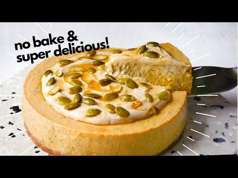 Vegan Pumpkin Pie Chia Pudding Cake (No Bake + Refined Sugar Free) |Delia.v Life