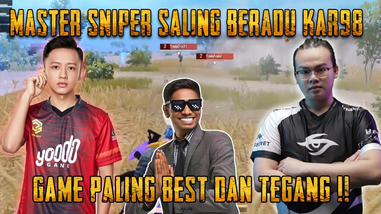 Game Paling Best Dan Tegang !! Yood Gank Berlawan Dengan Team Secret | Scrim Onthego | PUBG Mobile
