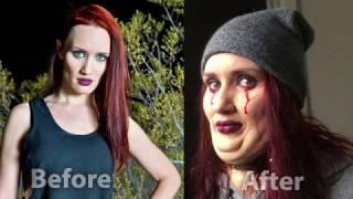 Fat prosthetic by Break All Productions, actress Nailya Shakirova