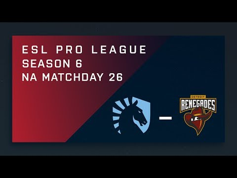CS:GO: Liquid vs. Renegades - NA Day 26 - ESL Pro League Season