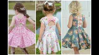 Comfortable new summer baby frock design idea easy stitch at home || beauty fashion