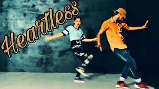 heartless badshah and aastha  gill  dance choreography  by ahasas ....