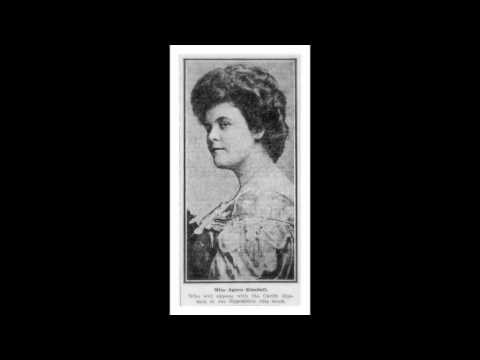 American Soprano Agnes KIMBALL: I list the trill of golden throat (c.1911-12?)