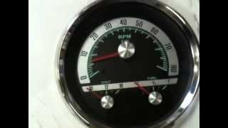 1968 Camaro Countdown to SEMA 2011 V8TV Video:  New Vintage USA Gauge Preview