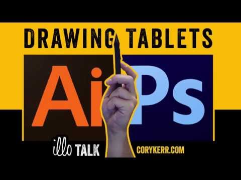 How To Use Drawing Tablets In Photoshop And Illustrator