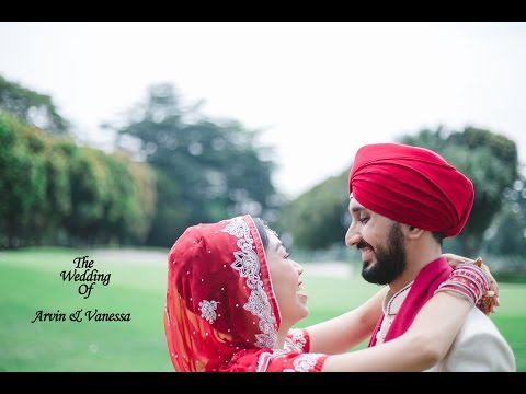 Pyaar Tere Da Assar - Arvin & Vanessa Wedding Highlights | D' Angel Arts Production