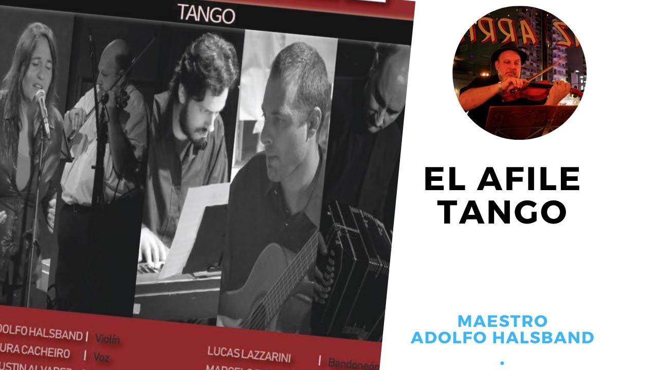 """""""Afiches """" Show de tango con El AFILE TANGO en la Facultad de Derecho de la ciudad de Buenos Aire"""