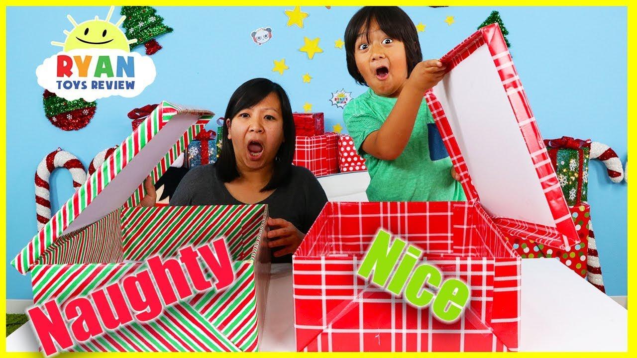 Naughty vs. Nice Christmas Present Challenge!!!