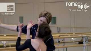 Romeo & Julia - Rehearsal video with Igone de Jongh & Jurgita Dronina