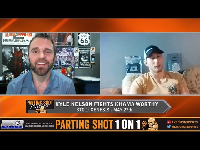 BTC 1's Kyle Nelson talks fighting close to home in Toronto, Netflix & UFC Edmonton