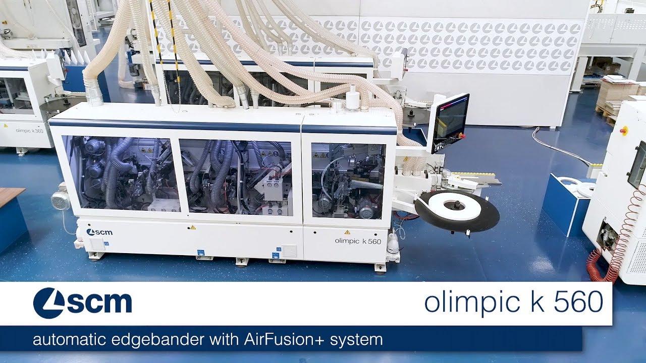 scm olimpic k 560 hp - automatic edge bander