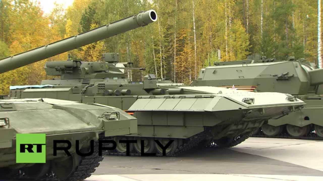 russia see the armada t 14 the robotic tank of the. Black Bedroom Furniture Sets. Home Design Ideas
