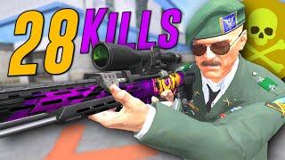 28 Kills // Carrying a TROLL team... (Black Squad)