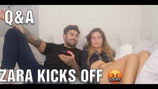 Zara kicks off because I like another girls photo?! WHO? | Q&A with Adam Collard & Zara Mcdermott