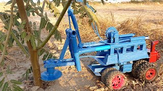 Tree Cutting Vehicle Machine DIY Car Technology Project  - 3M DIY